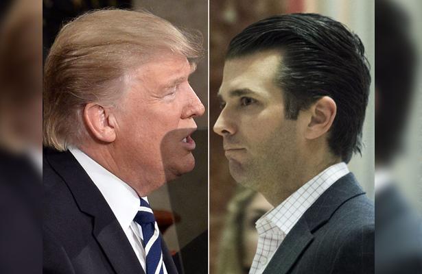 Trump pronunció comunicado falso acerca de la reunión de su hijo con abogada rusa