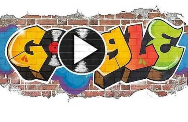 Doodle se pone de fiesta y recuerda nacimiento del Hip Hop