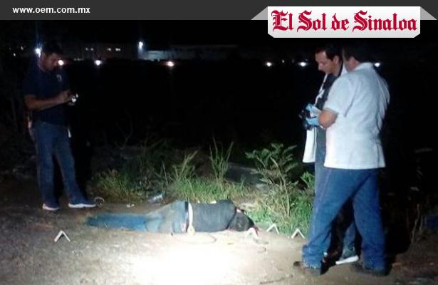 Acribillan a muchacho cerca de parque industrial en Sinaloa