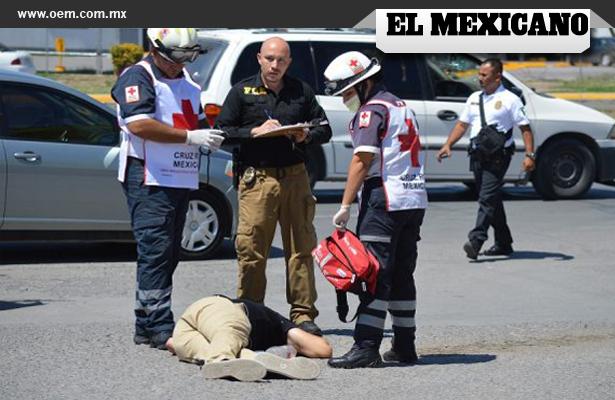Asesinato a metros de oficinas de gobierno en Chihuahua