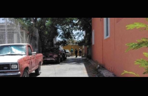 Granada de fragmentación cae sobre celda de la SSP, en Tamaulipas