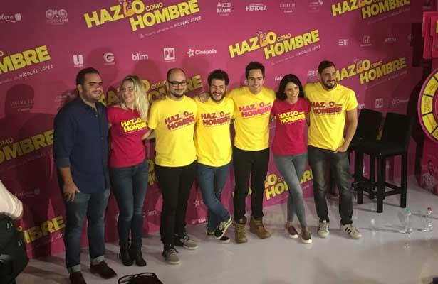 """Se estrena """"Hazlo como hombre"""" en cines mexicanos"""