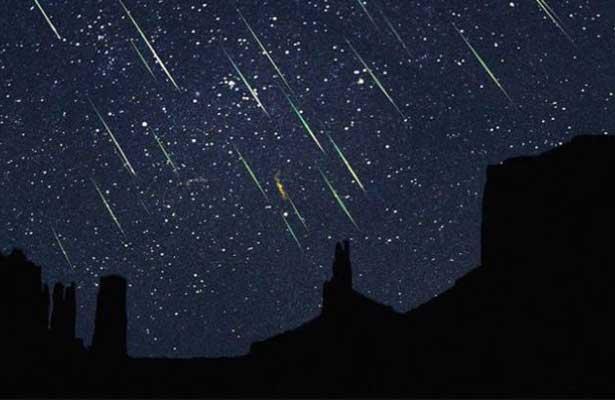 Se registrará la lluvia de meteoros más importante del año
