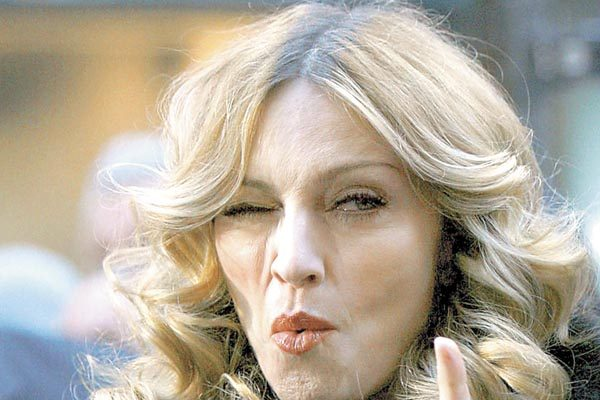 """Madonna, una persona horrible y mala"""