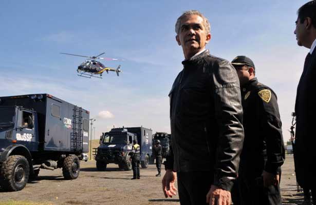 Mancera pone en marcha mega operativo en Tláhuac