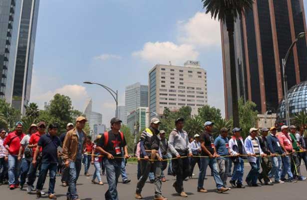 Estas son las marchas que provocarán caos en la CDMX