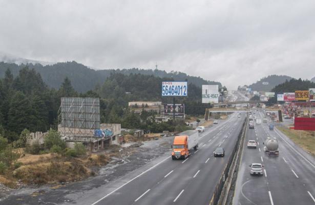 Accidente en carretera México-La Marquesa provoca cierre de circulación