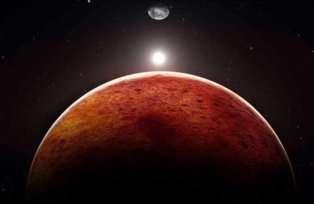 Encuentran posibles vestigios de agua en Marte