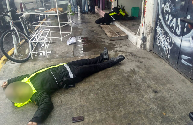 Matan a balazos a dos elementos del CES, en Ecatepec