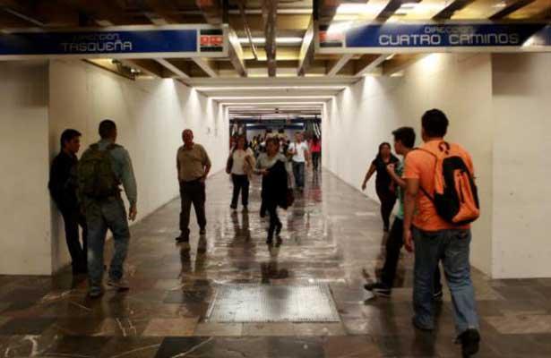 Se registró operativo en estaciones del Metro Hidalgo, Pino Suárez y Pantitlán