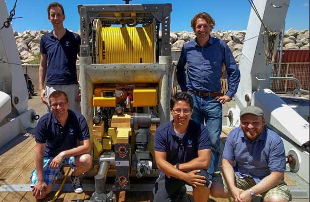 Ingeniero mexicano participa en proyecto para exploración de aguas profundas