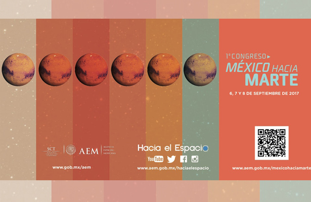 """Anuncian primer congreso """"México hacia Marte"""""""