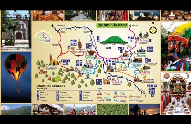 Promueve CDMX turismo alternativo en Milpa Alta