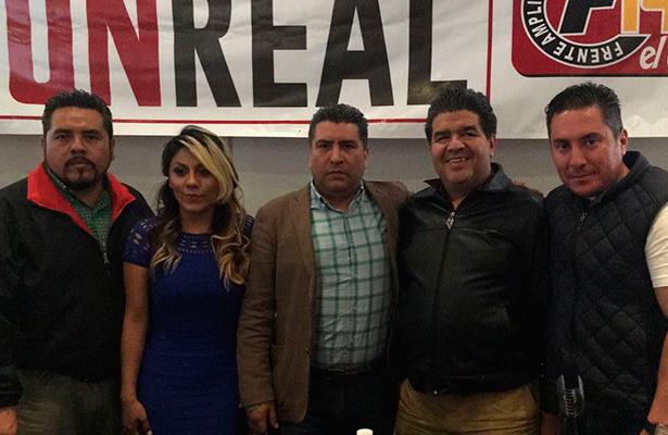 Se suman ex delegados y alcaldes a proyecto Monreal