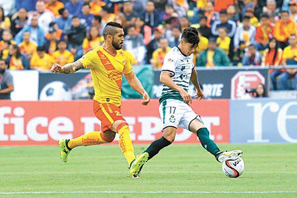 Morelia y Santos empatan a un gol