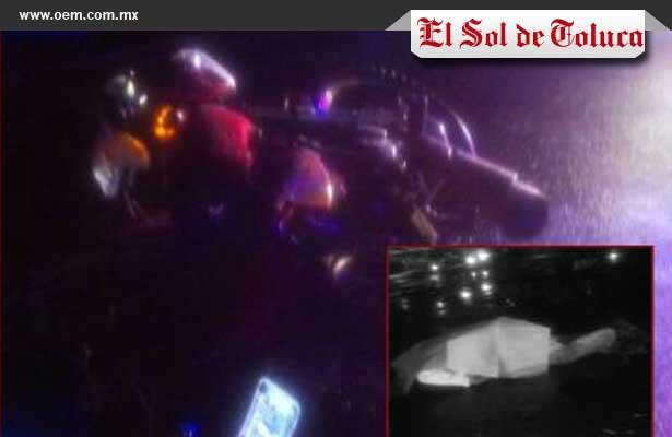 Muere motociclista al impactarse contra un taxi