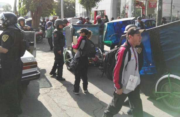 Realizan operativo contra mototaxis en V. Carranza
