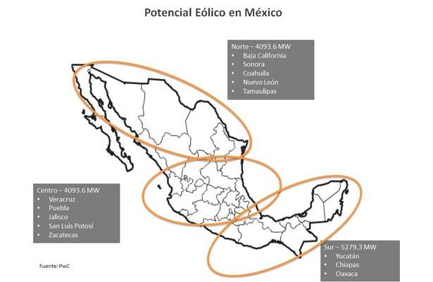 Construirán mayor parque eólico en México