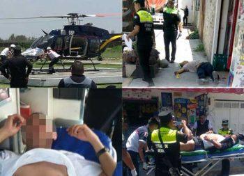 En enfrentamiento muere civil y policía resulta herido