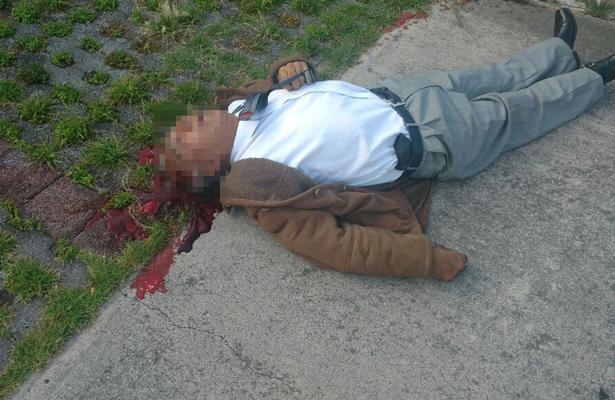 Muere policía en estacionamiento de Ministerio Público