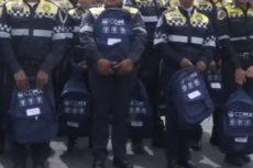 SSP-CDMX entrega mochilas con útiles escolares