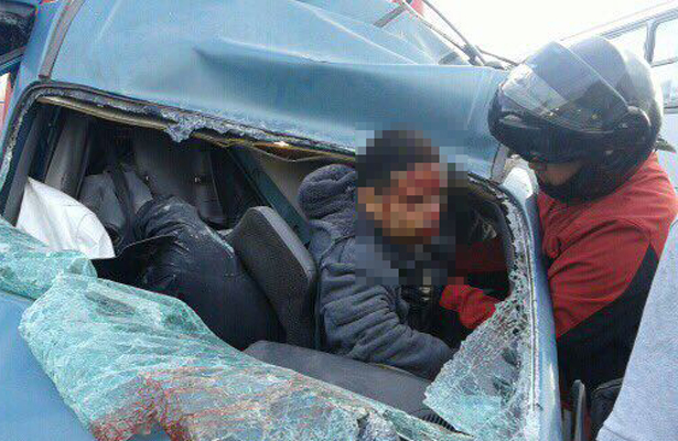 Choque deja un muerto y tres heridos en la México-Pachuca