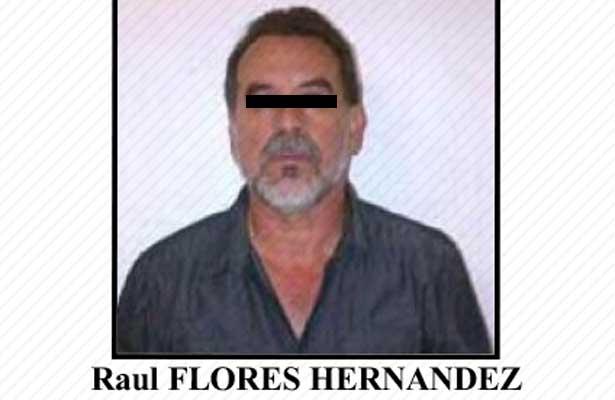 Trasladan al Altiplano a Raúl Flores, 'El Tío'