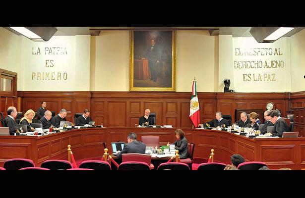 No es tarea del poder judicial mejorar condiciones de seguridad del país: SCJN