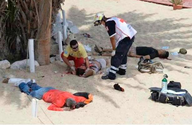 Disparan contra bañistas en BC, mueren tres