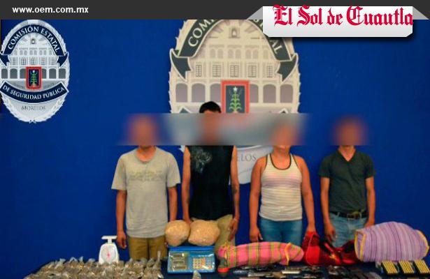 """Detienen a cuatro integrantes de """"Los Rojos"""""""