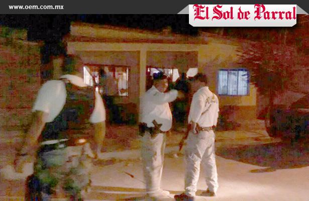 Balacera en Ciudad Jiménez deja dos muertos