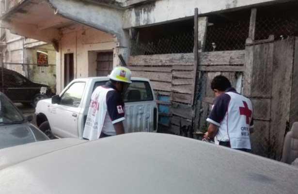 Intentó quitarse la vida al cortarse las venas, en Veracruz