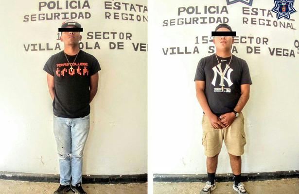Capturan a dos traficantes de armas en Oaxaca