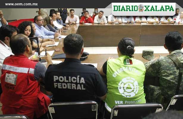 "Veracruz prepara albergues para la llegada de ""Franklin"""
