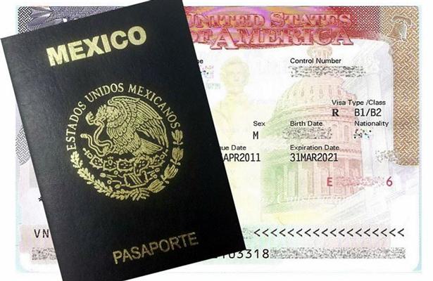Aumentan visas de trabajo otorgadas a mexicanos para viajar a EU