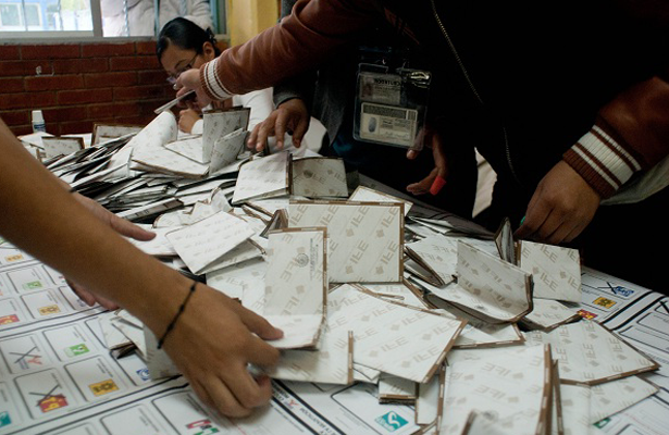 PAN exige recuento de votos en Edomex