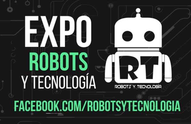 Presentan Expo Robots y Tecnología