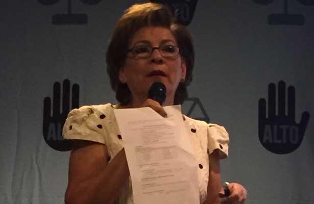 Miranda de Wallace aseguró que aumentaron los secuestros