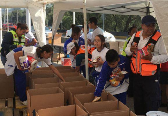 Envían 50 toneladas de víveres a Oaxaca