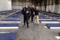 Policía Federal habilita albergue en la Ciudad de México