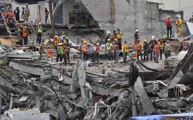 Terminan labores de rescate en Álvaro Obregón 286