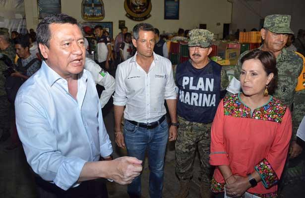 Osorio Chong llama a la unidad tras sismo