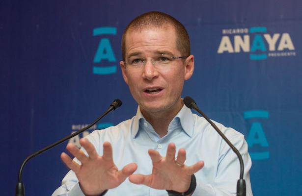 Ricardo Anaya acusa persecución política