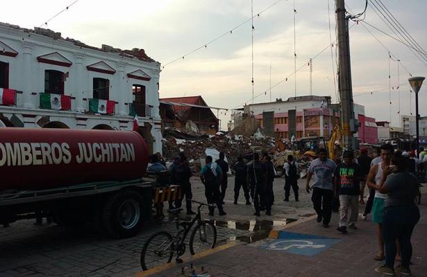 Van 45 víctimas mortales por el sismo, en Oaxaca