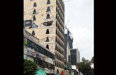 -Fotogalería- Zona Rosa, estructuras dañadas y escombros