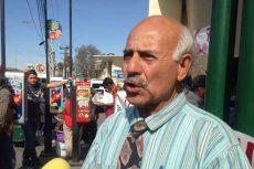 Manifestación de adultos mayores contra transporte público
