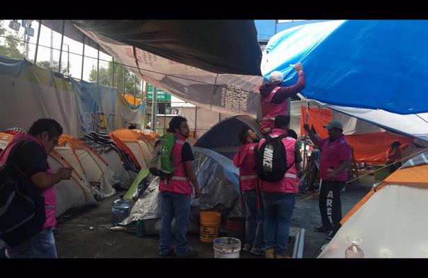 Atenderá Gobierno CDMX campamentos instalados por sismo