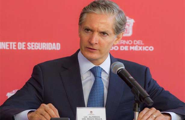 Presenta Del Mazo acciones para combatir la inseguridad
