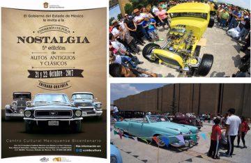 Llega 5ª. Edición de Autos Antiguos y Clásicos Nostalgia al CCMB