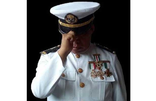 Muestra teniente jubilado sus aspiraciones presidenciales